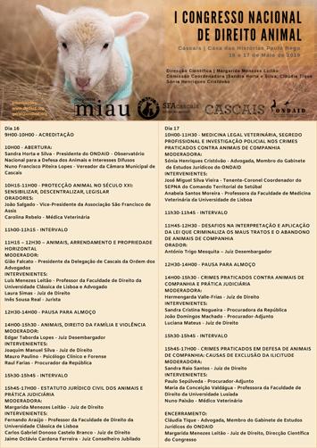 I Congresso Nacional de Direito Animal