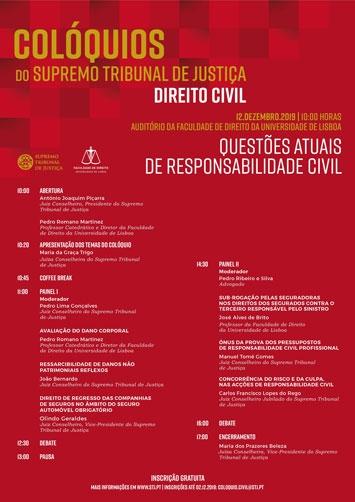 Colóquio sobre Direito Civil - Questões Atuais de Responsabilidade Civil